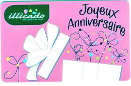 Carte Cadeau Gift Card Geschenkkarte Carte Neuve Non Chargée Usage Unique Pour La Collection ! - France