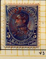 Venezuela 1893 Y&T 43 (*) - Venezuela