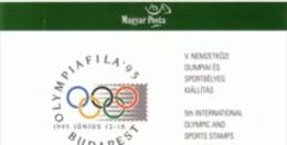 1995.Hungary, Olimpicfila,   Unused Booklet, Mi.4347-8