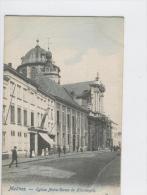 CP Malines Eglise Notre-Dame De Hanswijck. 50 Vers 1902 Rare Légèrement Colorisé - Mechelen