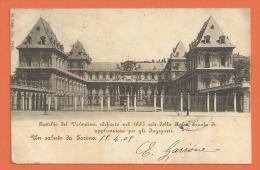 HB358, Un Saluto Da Torino, Précurseur, Circulée 1902 - Castello Del Valentino