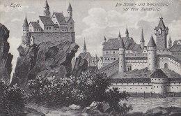 Hongrie - Eger - Erlau - Die Keiser Und Wenzelsburg Vor Ihrer Zerstörung - Chateau Fort - Hungary