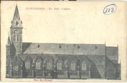 Op921:  LOVENDEGEM - De Kerk - Eglise 1908 - Lovendegem