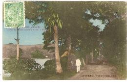 Madagascar - NOSSI BÉ - Hellville, Allée Des Cocotiers ++ To Hyères, 1906 ++ Chatard, Diégo-Suarez ++ - Madagascar