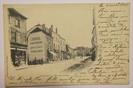 CPA Vauvillers Rue Du Centre - Animé Précurseur 1901 - MY01 - Other Municipalities