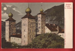YBRI-99 Brig Château Stockalper Précurseur Brig 1905 - VS Valais