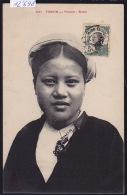 Tonkin : Femme - Buste ; Timbres Indochine Française 1912 (1 Verso Et 1 Recto) (12´698) - Viêt-Nam
