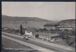 WA759 NORGE , NARVIK - DEN SVENSKE SJOMANNSKIRKEN MALMKAIEN - Norway