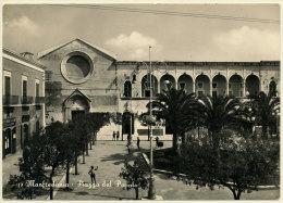 MANFREDONIA (FOGGIA) PIAZZA DEL POPOLO 1955 - Manfredonia