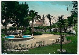 MANFREDONIA (FOGGIA) GIARDINI 1958 - Manfredonia