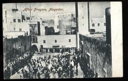 Cpa  Du Maroc  Mogador  After Prayers    6ao38 - Unclassified