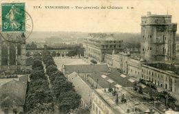 Vincennes - Vue Générale Du Château - Vincennes