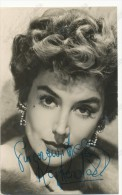 KAY KENDALL-  Autograph, Signed , Film Actors,  Vintage Old Photo Postcard - Acteurs