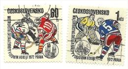 1972 - Cecoslovacchia 1909/10 Campionati Europei C2561^ - Hockey (su Ghiaccio)