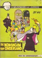 JEF NYS : DE BELEVENISSEN VAN JOMMEKE : DE KONINGIN VAN ONDERLAND - Livres, BD, Revues