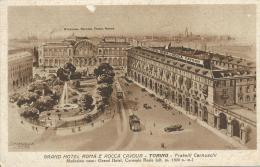 Grand Hotel Roma E Rocca Cavour Torino Fratelll Cernuschi G. Mandelli Edit Como - Bars, Hotels & Restaurants