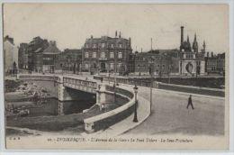 Dunkerque - Avenue De La Gare - Pont Thiers - Sous-préfecture - CPA - Dunkerque