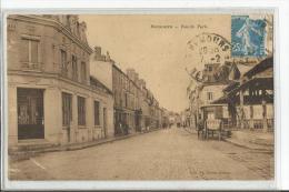 NEMOURS  RUE DE PARIS  BANQUE BNP    TOMBEREAU - Nemours