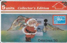 Gibraltar, GIB-33, Christmas 1993 Collectors Ed., Mint, 2 Scans. - Gibraltar