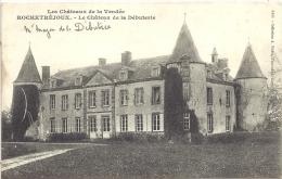 85 - Rochetréjoux : Le Château De La Débuterie - France