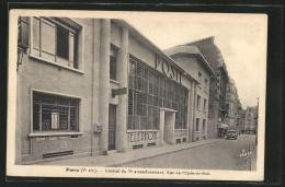 CPA Paris, Central Du Ve Arrondissement, Rue De L'Epée-de-Bois, Postzentrale - Unclassified