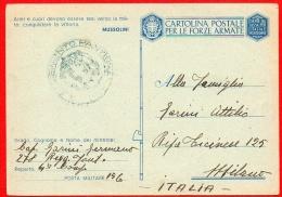 FRANCHIGIA -POSTA MILITARE- PM 156 - FANTERIA- PER MILANO-087 - Guerra 1939-45