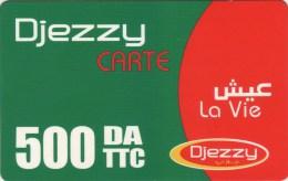 *ALGERIA* -  Scheda Usata - Algeria