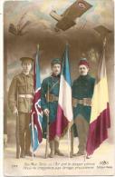 MILITARIA -par Terre Mer Et L'air ..  Français Anglais Belge  - Neuve TTB - Uniforms