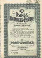 Usines Cotonnières De Belgique - 1929 - Textile