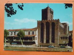 V09-34-herault-agde--la Cathedrale--sur Le Toit La Galiote - Agde