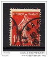 Semeuse N° 138c Oblitéré - ECARLATE - Cote 54€ - Errors & Oddities