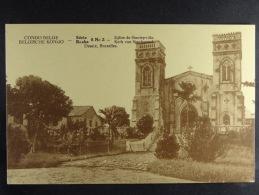 (Voir Verso : Carte D´honneur) Congo Belge Eglise De Stanleyville - Belgian Congo - Other