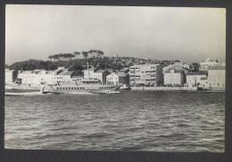 "Mali Losinj - Hydrofoil Passenger Ship ""Vihor"" - Photopostcard Travelled 1965 - Croazia"