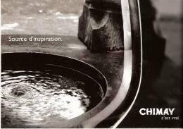 Publicité- Brasserie De Chimay-Bière Trappiste-l´eau- Source D´inspiration - Advertising