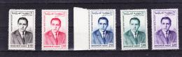1962-Marokko-Mi 480-484 (**) - Maroc (1956-...)
