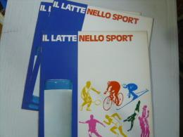 3 Album Vuoti, IL LATTE NELLO SPORT - Centrale Del Latte Di Milano - Buonissime Condizioni - Stickers