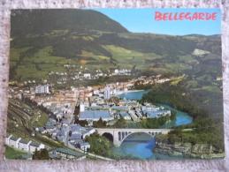 BELLEGARDE : Le Rhône Et La Ville Dans Les Années 1970 - Bellegarde-sur-Valserine