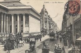 Paris- La Rue Réaumur. - France