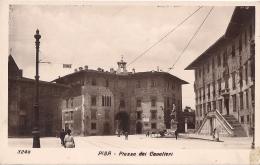 TOSCANA-  PISA PIAZZA DEI CAVALIERI   BEN CONSERVATA 100% ORIGINALE D´ EPOCA - Pisa