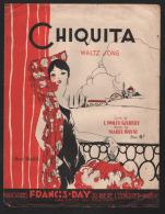 7306 - Chiquita       Valse       Lyrics De L. Wolfe Gilbert - Music & Instruments