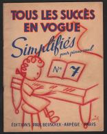 7311 - Livret   17 Chansons  Adaptation De Cet Album A Ete   Realisé Par Le Pianiste  Compositeur Jack Ledru - Music & Instruments