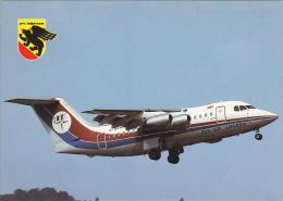 Dan Air London British Aerospace BAe 146 100 Aircraft Postcard (A24280) - 1946-....: Moderne