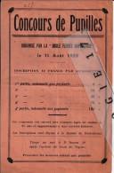 05 10 GAP HAUTE ALPES 1929 CONCOURS DE PUPILLE - Boule Ferrée Gapençaise -  Petanque - Pétanque