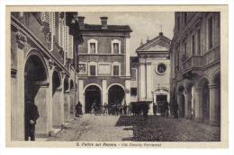 SAN FELICE SUL PANARO VIA ONORIO FERRARESI NON VIAGGIATA C.109 - Modena