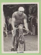 Jules LOWIE, Autographe Manuscrit, Dédicace. 2 Scans. Photo Jac - Cyclisme