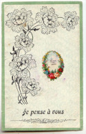 D 11157  -  Je Pense à Vous - Fleurs - Autres