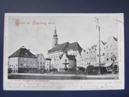 AK SCHÄRDING 1900  //  D*8506 - Schärding
