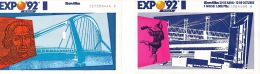 ✸ Deux Tickets D'entrée—Exposition Séville 1992 ✸ - Biglietti D'ingresso