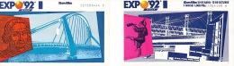 ✸ Deux Tickets D'entrée—Exposition Séville 1992 ✸ - Eintrittskarten