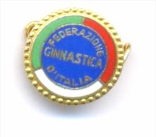 ITALY /  ITALIAN GYMNASTIC FEDERATION , NOC Pin Badge - Gymnastics